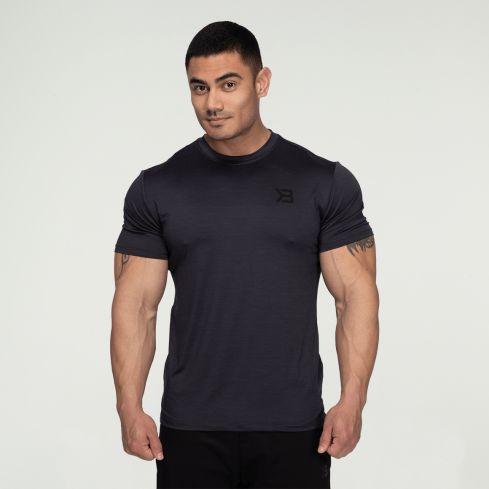 Better Bodies Essex Stripe T-Shirt - Graphite