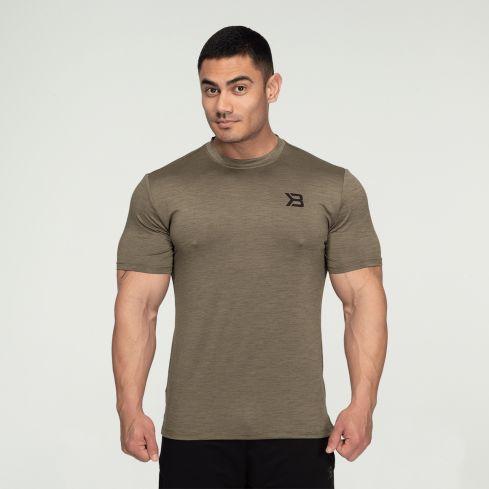Better Bodies Essex Stripe T-Shirt - Washed Green