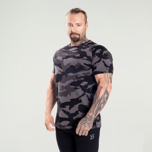 Better Bodies Gym Tapered Tee - Camo