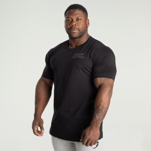 GASP 89 Classic Tapered T-Shirt - Black