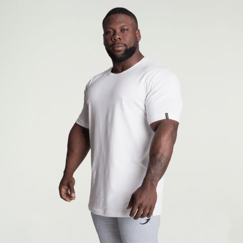 GASP Classic Tapered T-Shirt - White