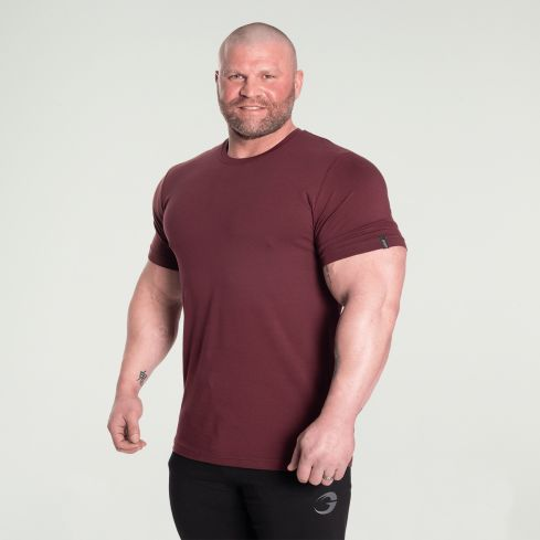 GASP Classic Tapered T-Shirt - Maroon