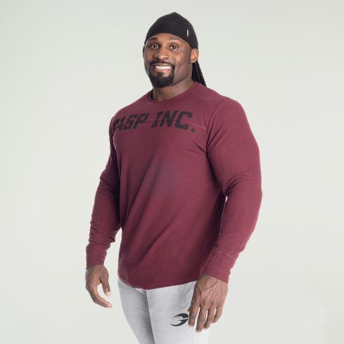 GASP Inc Thermal Long Sleeve T-Shirt - Maroon