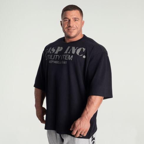GASP Iron Thermal Rag T-Shirt - Asphalt