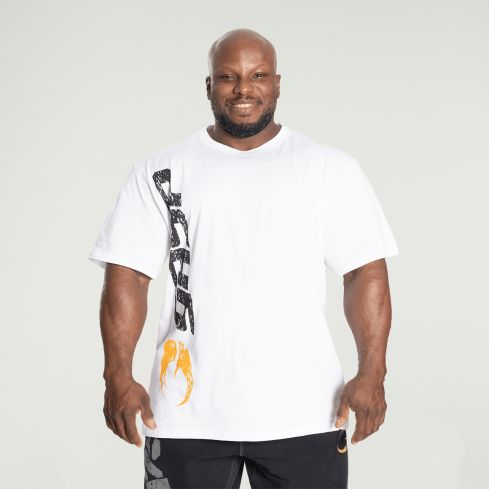 GASP Original T-Shirt - White/Black front