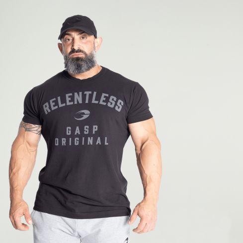 GASP Relentless Skull T-Shirt - Black