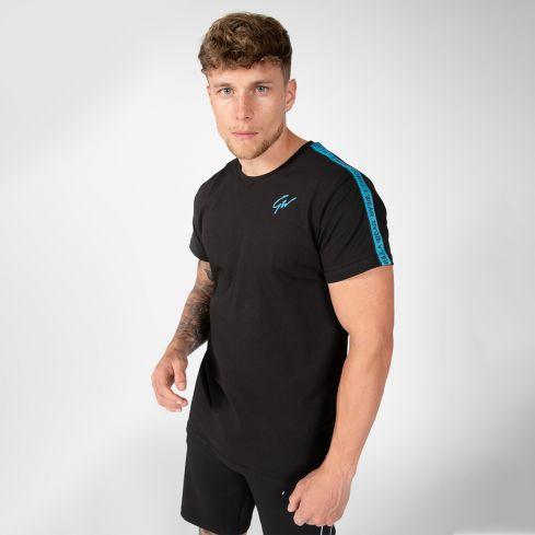 Gorilla Wear Chester T-Shirt - Black/Blue