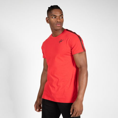 Gorilla Wear Chester T-Shirt - Red/Black