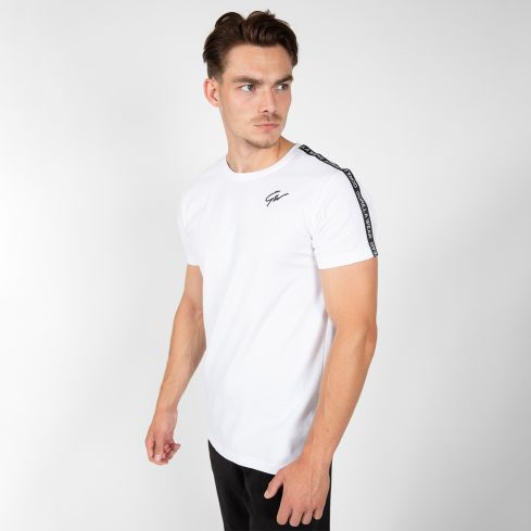 Gorilla Wear Chester T-Shirt - White/Black