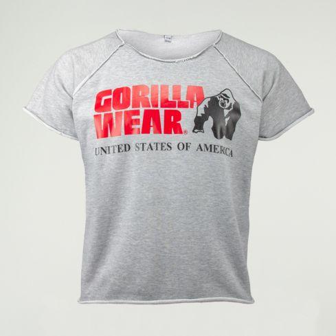 Gorilla Wear Classic Rag Top – Grey 1
