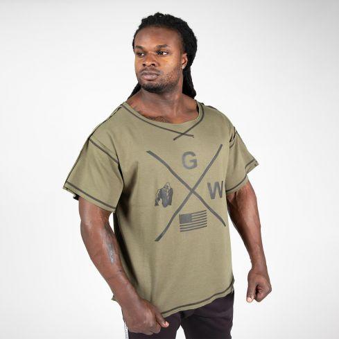 Gorilla Wear Sheldon Rag Top - Army