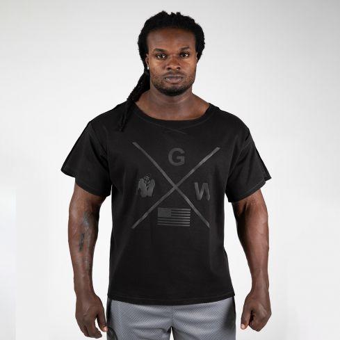 Gorilla Wear Sheldon Rag Top - Black