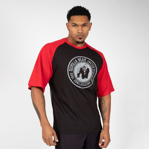Gorilla Wear Texas T-Shirt - Black/Red