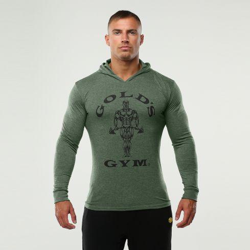 Golds Gym Herren Hooded Langarmshirt